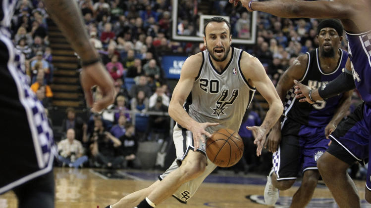NBA: San Antonio Spurs at Sacramento Kings