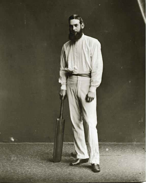 W G Grace And Bat