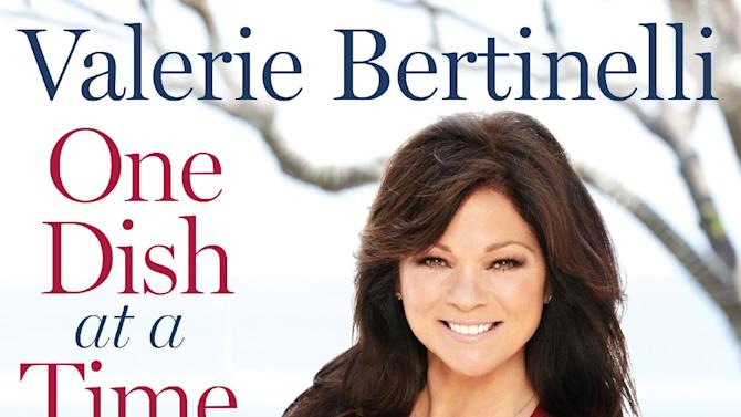 """This undated publicity photo provided by Rodale Books shows the cover of Valerie Bertinelli's book """"One Dish at a Time."""" (AP Photo/Rodale Books)"""