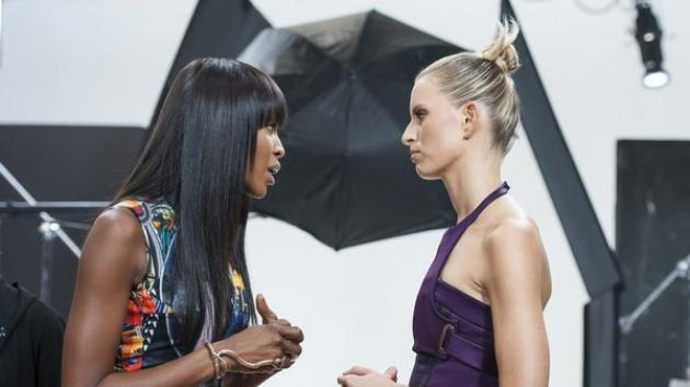 Naomi Campbell and Karolina Kurkova on Oxygen's 'The Face' -- Oxygen