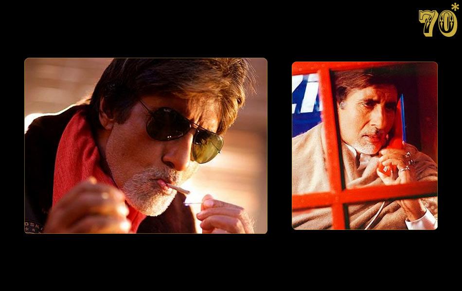 Amitabh Bachchan: Angry young man at 70
