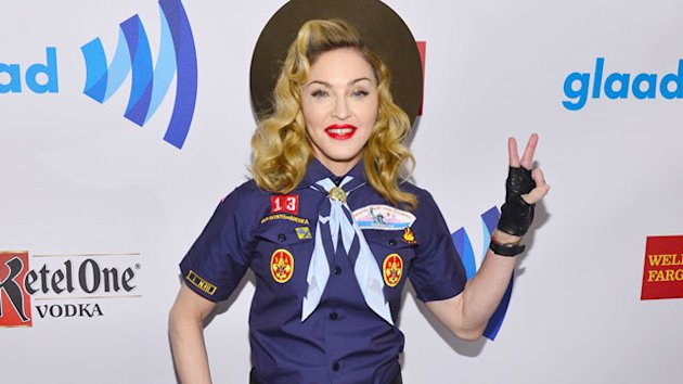 Madonna Criticizes Boy Scouts at GLAAD Awards (ABC News)