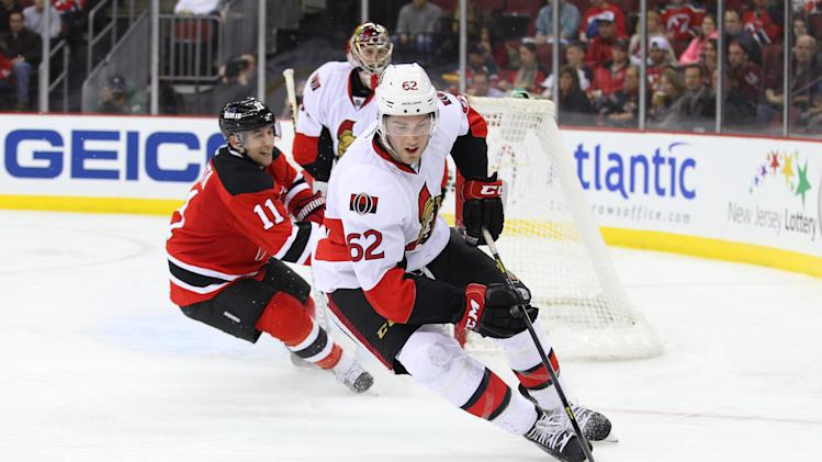 NHL: Ottawa Senators at New Jersey Devils