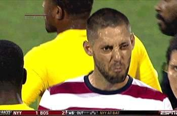 Clint Dempsey provides some comedy during USA vs. Jamaica World Cup qualifier