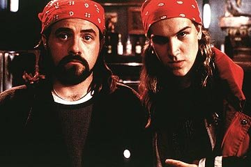Kevin Smith and Jason Mewes as the inimitable duo Jay and Silent Bob in Lions Gate's Dogma