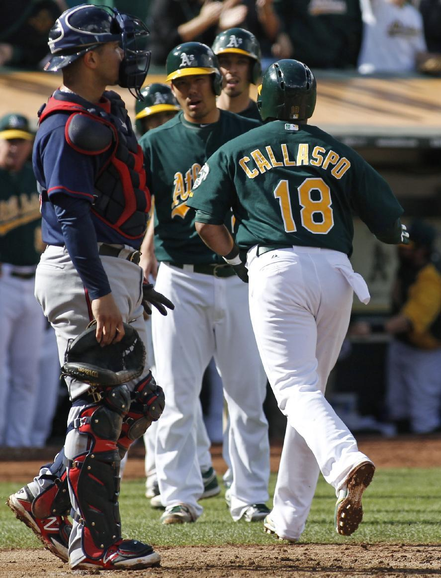 A's beat Twins 9-1, lower magic number to 1