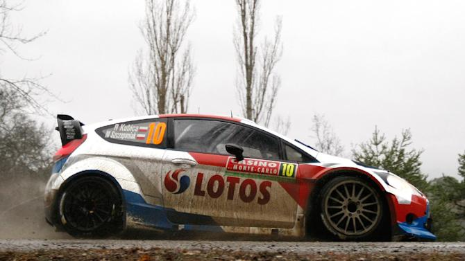 Kubica impresses on first day of Monte Carlo Rally