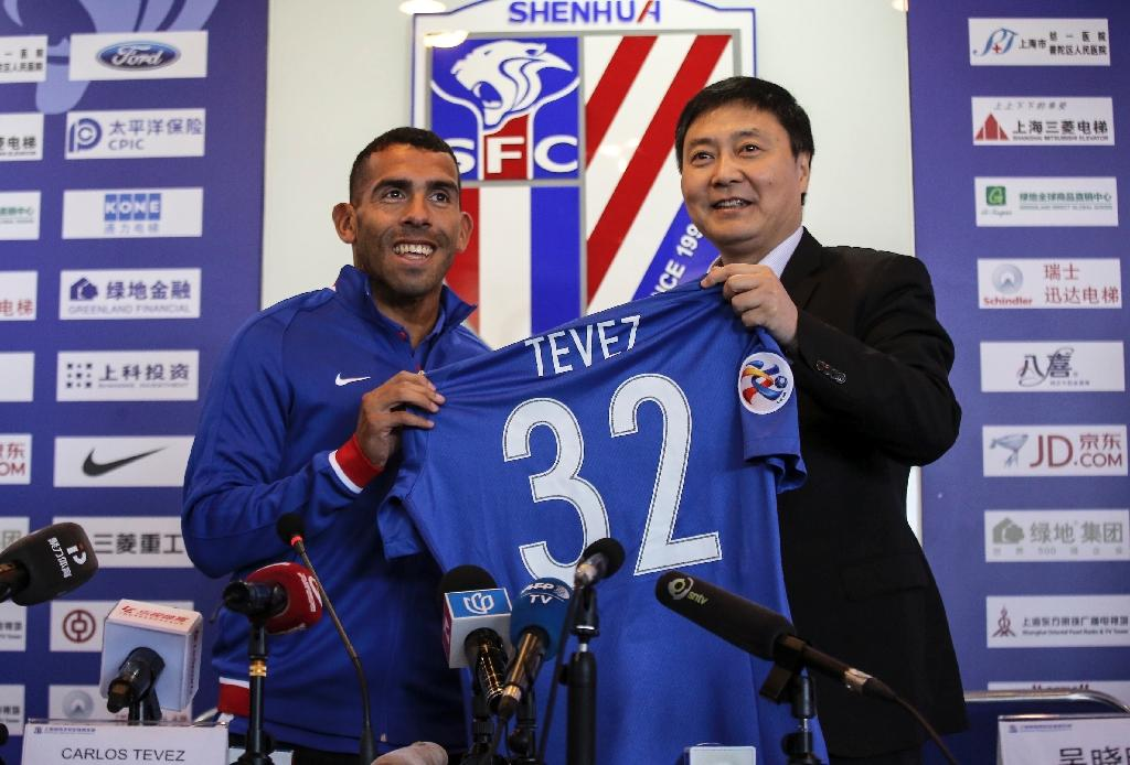 Tevez out to prove his worth in 'new home' Shanghai