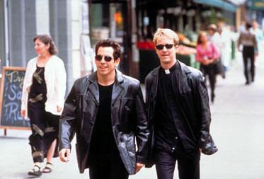Ben Stiller as Jake Schram and Edward Norton as Brian Finn in Touchstone's Keeping the Faith