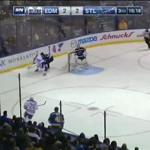 Oilers at Blues / Game Highlights