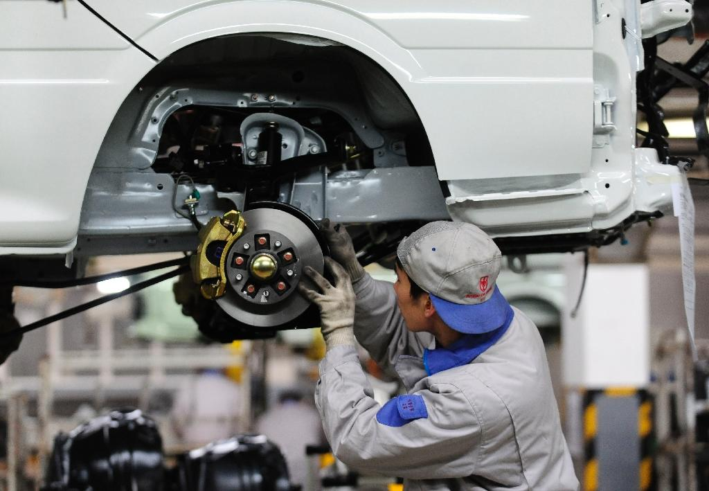 China manufacturing improves in February: HSBC