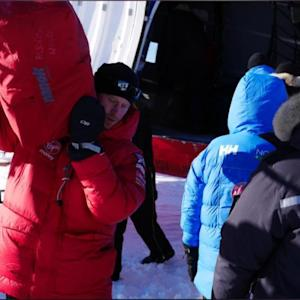 Prince Harry Makes A Phone Call From Antarctica