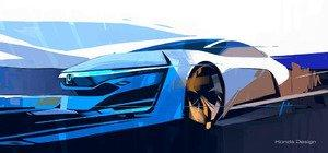 Honda FCEV Concept to Make World Debut at 2013 Los Angeles Auto Show