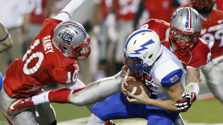 New Mexico runs past Air Force, 45-37