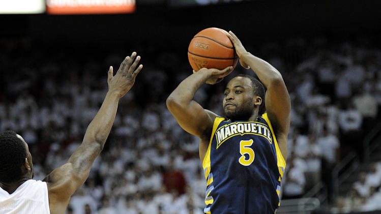 NCAA Basketball: Marquette at Louisville