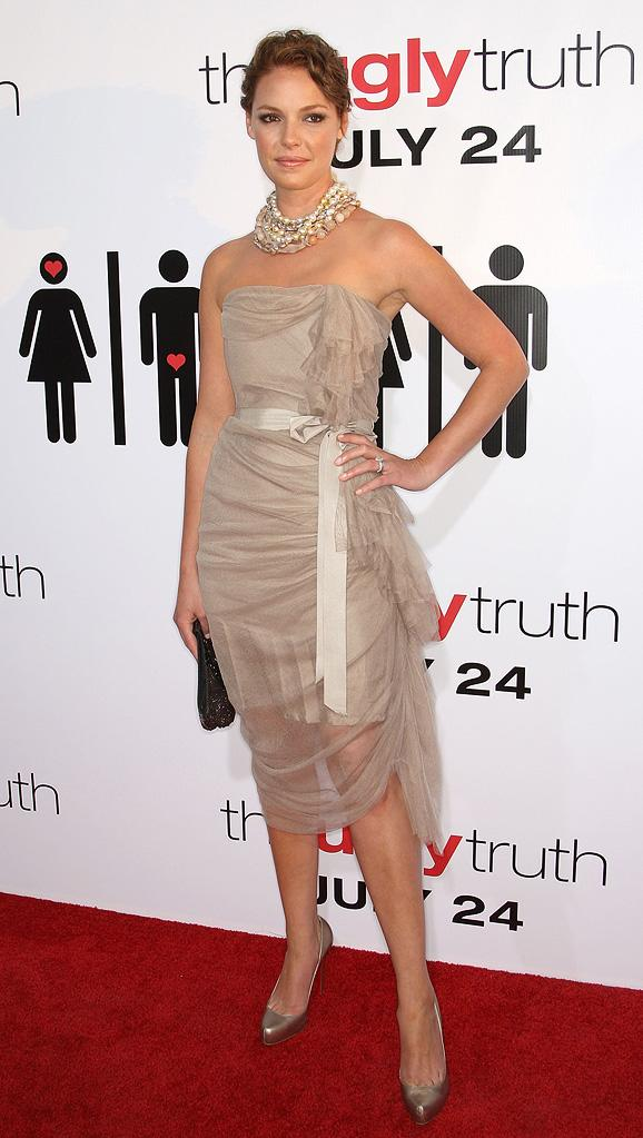The Ugly Truth LA Premiere 2009 Katherine Heigl