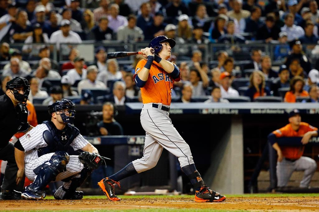Astros down Yankees to advance in baseball playoffs