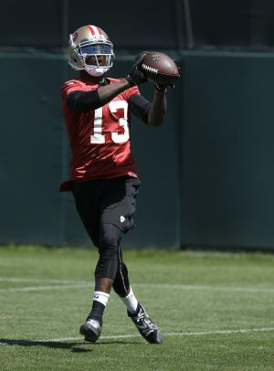 New WR Stevie Johnson gears up for 49ers debut
