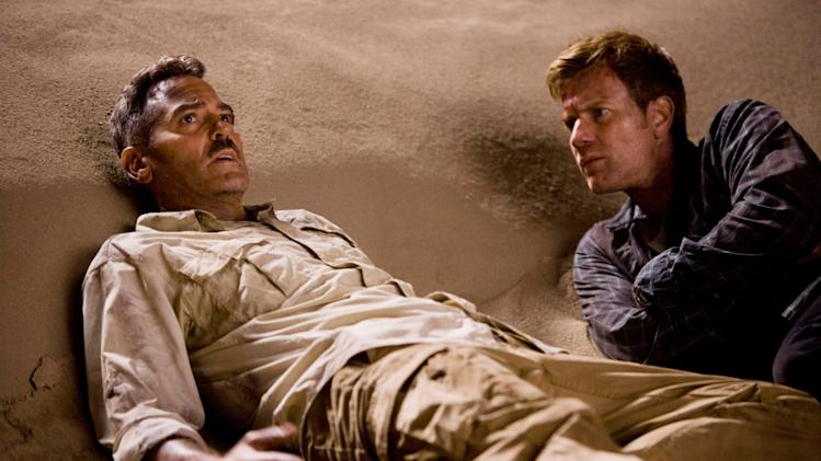 The Men Who Stare at Goats Production Photos 2009 Overture Films George Clooney Ewan McGregor