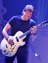 Musician George Thorogood performs at &quot;Play It Forward: A Celebration of Music&#39;s Evolution and Influencers&quot; at the Grammy Foundation&#39;s 15th Annual Music Preservation Project, Thursday, Feb. 7, 2013, in Los Angeles. (Photo by Vince Bucci/Invision/AP)
