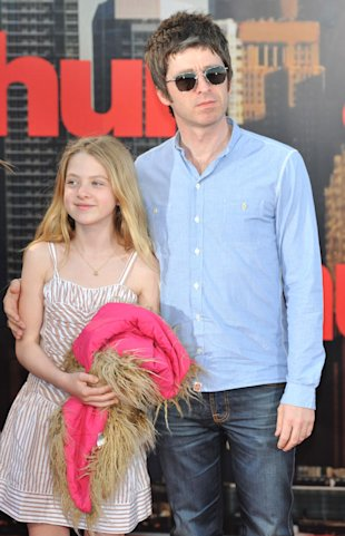Noel Gallagher e la figlia Anais
