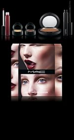 mac cosmetics look in a box