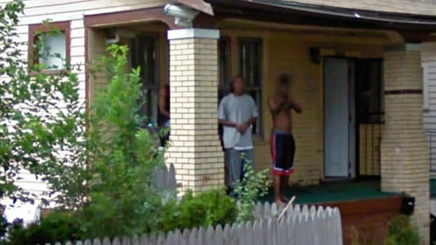 Google Camera Captures Man Pointing Gun From What Looks Like House Where Infant Found Dead (ABC News)