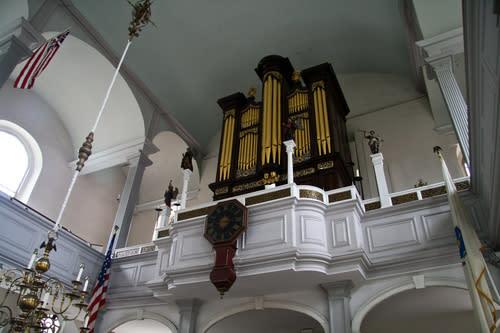 Boston's Old North Church Restoration Revealing Secrets