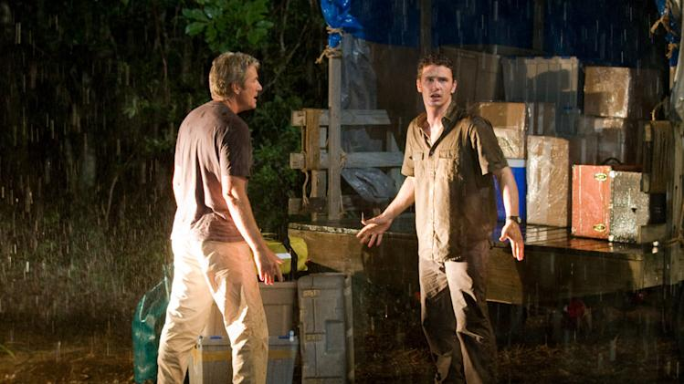 Richard Gere James Franco Nights in Rodanthe Production Stills Warner Bros. 2008