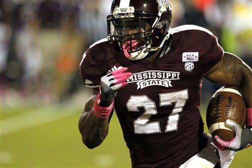 No. 19 Mississippi State beats Tennessee, 41-31