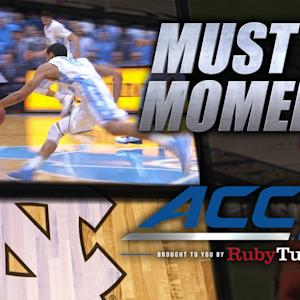 UNC's Marcus Paige Incredible Diving Assist vs NC State | Must See Moment