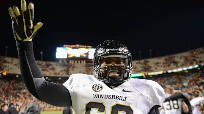 NCAA Football: Vanderbilt at Tennessee