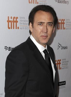 Nicolas Cage arrives at 'Trespass' premiere at Roy Thomson Hall during the 2011 Toronto International Film Festival in Toronto on September 14, 2011 -- Getty Images