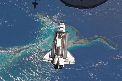 Click image to view photos of space travel's past, present and future. (AFP)
