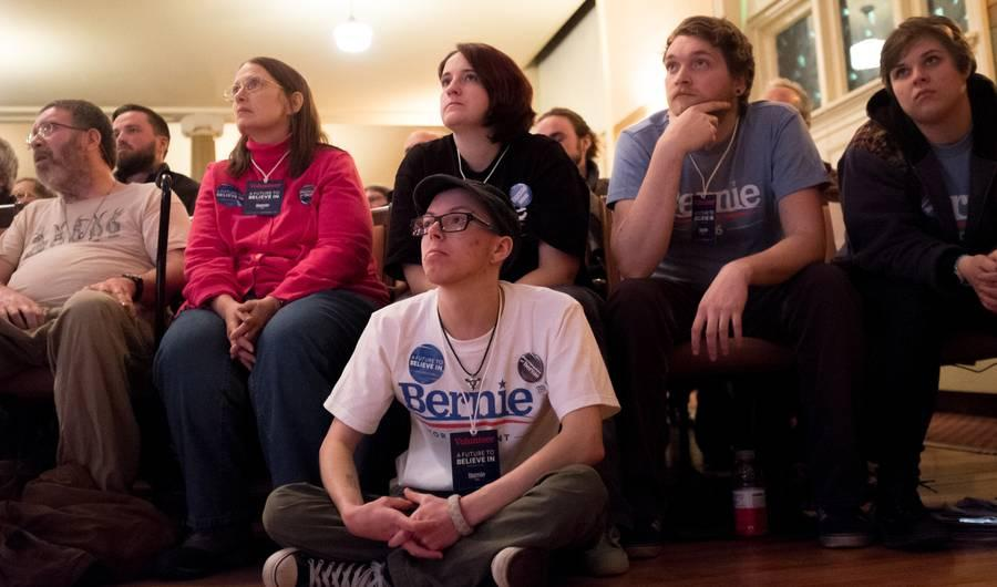 Bernie Sanders' Young Supporters in New Hampshire Explain the Secret to His Appeal