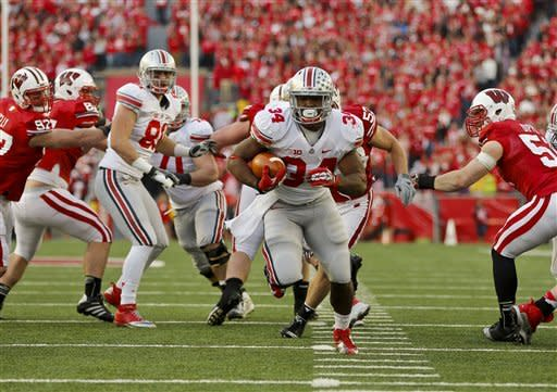 No. 6 Buckeyes beat Wisconsin in OT, 21-14