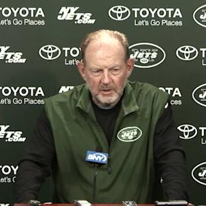 New York Jets offensive coordinator Chan Gailey: 'Right now Geno Smith is the starter'