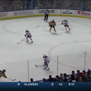 Mike Smith Save on Rasmus Ristolainen (13:31/1st)