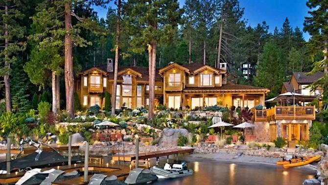 HOUSE OF THE DAY: Oracle Billionaire Larry Ellison Just Sold His Lake Tahoe Mansion For $20 Million