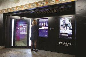 L'Oreal Paris Brings Beauty Underground, Introducing First-Ever Intelligent Shopping Experience in the New York City Subway