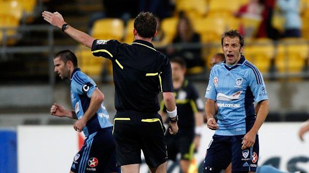 2012 A-League Del Piero - AFP