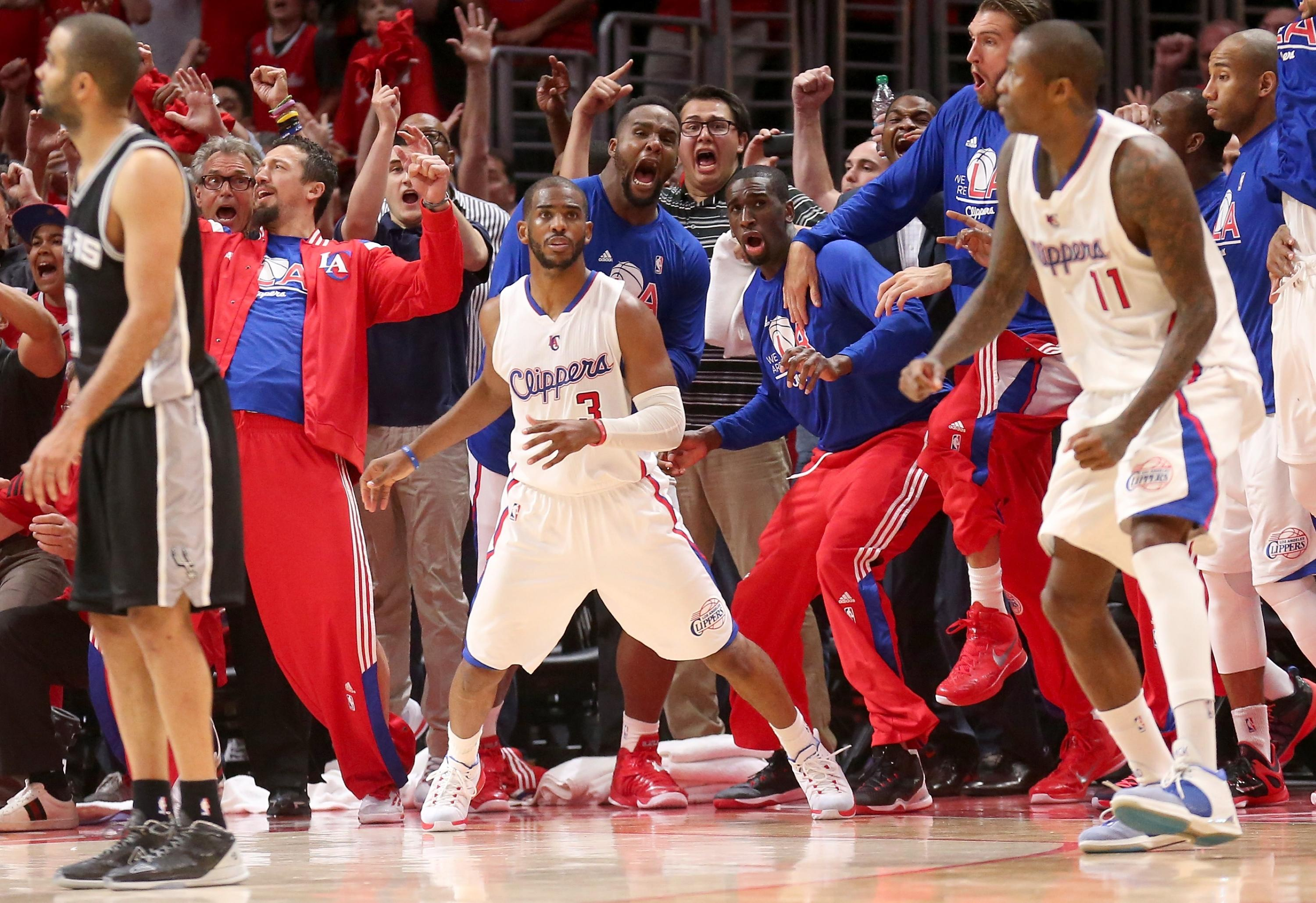Why Chris Paul was so emotional after knocking off Spurs with memorable one-legged shot