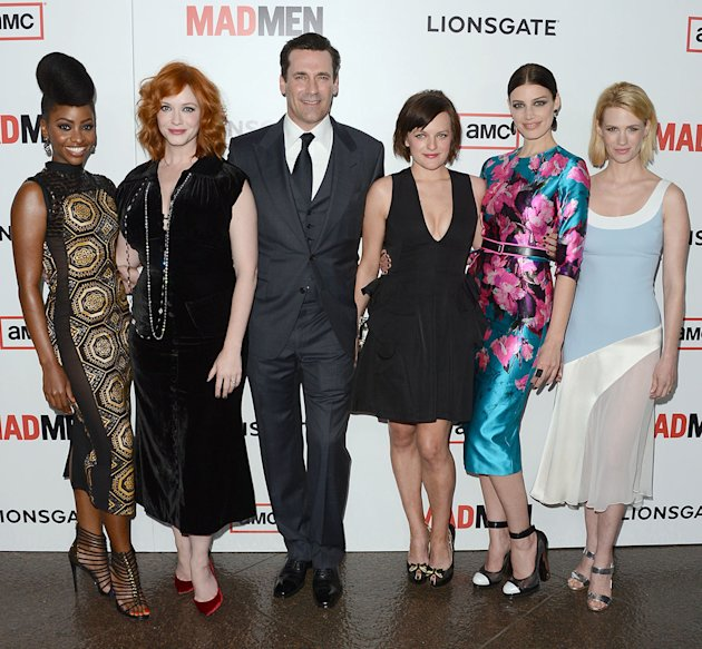 Premiere Of AMC's &quot;Mad Men&quot; Season 6 - Arrivals