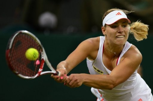 Angelique Kerber has surged up the rankings to 8th place since a breakthrough run to the US Open semi-finals last year
