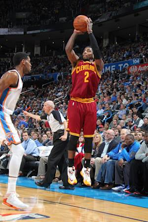 Irving scores 31, leads Cavaliers past Thunder