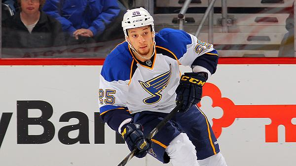 St. Louis Blues' Chris Stewart