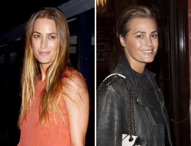 Yasmin Le Bon&amp;#39;s Edgy New &amp;#39;Do Proves Undercuts Are The Hottest Hair Trend