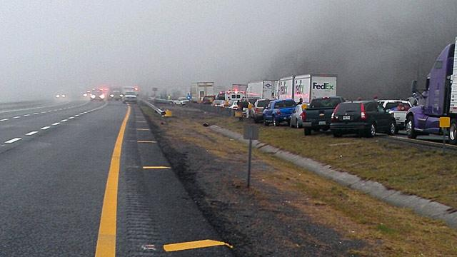 Virginia 75-Car Pile-Up Kills at Least 3