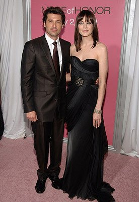 Patrick Dempsey and Michelle Monaghan at the New York City premiere of Columbia Pictures' Made of Honor