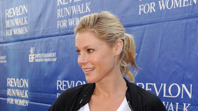 Julie Bowen arrives at the 20th Annual EIF Revlon Run/Walk For Women held at Los Angeles Memorial Coliseum at Exposition Park on Saturday, May 11, 2013 in Los Angeles, California. (Photo by Frank Micelotta/Invision for Revlon/AP Images)